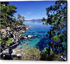 Lake Tahoe Swimming Hole Acrylic Print by Scott McGuire