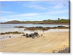 L'ancresse Bay - Guernsey Acrylic Print by Joana Kruse