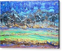 Landscape Layers Acrylic Print by Regina Valluzzi