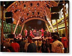 Las Vegas - Fremont Street Experience - 121211 Acrylic Print by DC Photographer