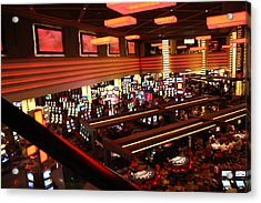 Las Vegas - Planet Hollywood Casino - 12123 Acrylic Print by DC Photographer