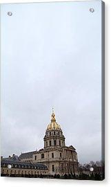 Les Invalides - Paris France - 01131 Acrylic Print by DC Photographer