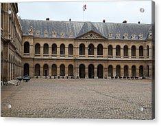 Les Invalides - Paris France - 01137 Acrylic Print by DC Photographer