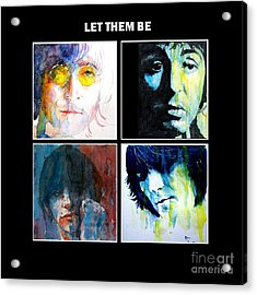 Let Them Be Acrylic Print by Paul Lovering