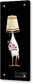 Life Of The Party... Acrylic Print by Will Bullas