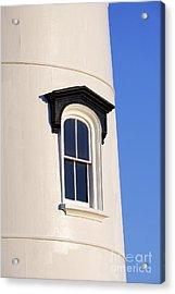 Lighthouse Window Acrylic Print by John Greim