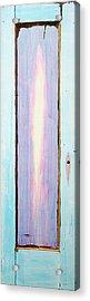 Looking Within Door Acrylic Print by Asha Carolyn Young