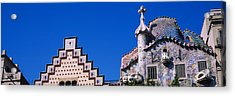 Low Angle View Of A Building, Casa Acrylic Print by Panoramic Images