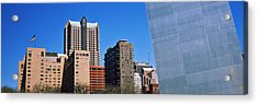 Low Angle View Of Buildings, Hyatt Acrylic Print by Panoramic Images