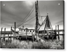 Lowcountry Shrimp Boat Acrylic Print by Scott Hansen
