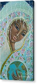 Ma -first Sound In The Universe Acrylic Print by Maya Telford