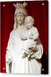 Madonna And Child Acrylic Print by Michael Durst