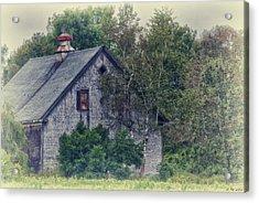 Maine Countryside Acrylic Print by Richard Bean