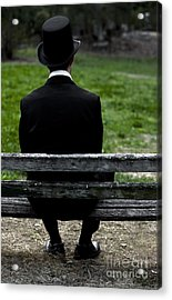 Man From The Past Acrylic Print by Jorgo Photography - Wall Art Gallery