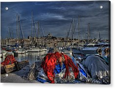 Marseille Acrylic Print by Karim SAARI
