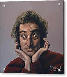 Marty Feldman Acrylic Print by Paul Meijering