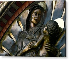Mary And Jesus Acrylic Print by Daniel Hagerman