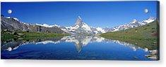 Matterhorn Zermatt Switzerland Acrylic Print by Panoramic Images