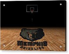 Memphis Grizzlies Acrylic Print by Joe Hamilton
