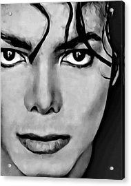 Michael Acrylic Print by Florian Rodarte