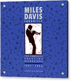 Miles Davis All Stars -  Chronicle Acrylic Print by Concord Music Group