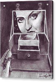 1 Minute Miss Davis Acrylic Print by Samantha Geernaert