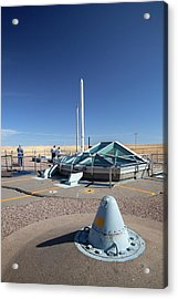 Minuteman Missile Silo Acrylic Print by Jim West