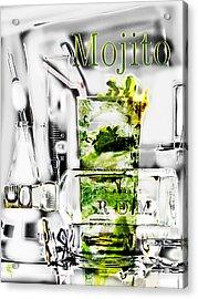 Mojito Acrylic Print by Russell Pierce