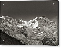 Mont Blanc Group Acrylic Print by Juergen Klust