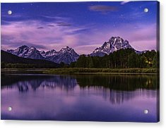 Moonlight Bend Acrylic Print by Chad Dutson