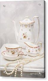 Morning Tea Acrylic Print by Amanda And Christopher Elwell