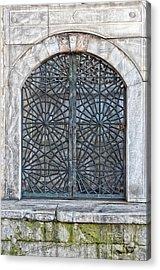 Mosque Window Acrylic Print by Antony McAulay