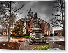 Murfreesboro Town Hall Acrylic Print by Brett Engle