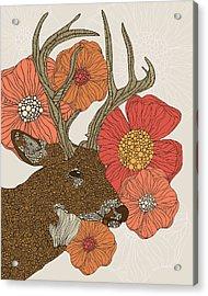 My Dear Deer Acrylic Print by Valentina Ramos