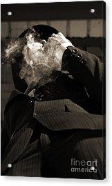 Mysterious Miasma Man Acrylic Print by Jorgo Photography - Wall Art Gallery
