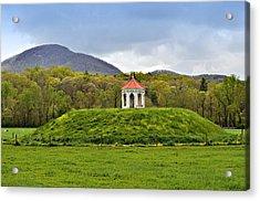 Nacoochee Indian Mound Acrylic Print by Susan Leggett