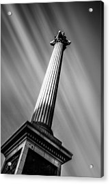 Nelsons Column London Acrylic Print by Ian Hufton