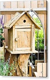 Nesting Box Acrylic Print by Tom Gowanlock