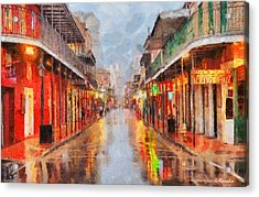 New Orleans Acrylic Print by George Rossidis