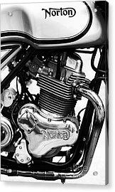 Norton Commando 961 Sport Monochrome Acrylic Print by Tim Gainey