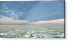 Norwegian Pearl Acrylic Print by John  Poon