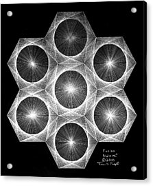 Nuclear Fusion Acrylic Print by Jason Padgett