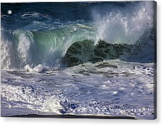 Ocean Waves Acrylic Print by Garry Gay