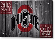 Ohio State Buckeyes Acrylic Print by Dan Sproul