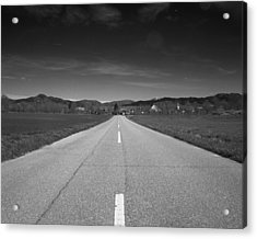 On The Road Acrylic Print by Marcio Faustino