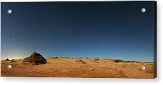 Orion Constellation Acrylic Print by Luis Argerich