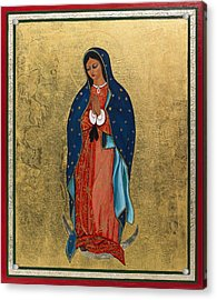Our Lady Of Guadalupe I Acrylic Print by Ilse Wefers