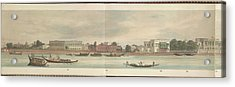 Panorama Of The City Of Dacca Acrylic Print by British Library