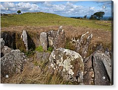 Passage Grave,carbane West, Loughcrew Acrylic Print by Panoramic Images