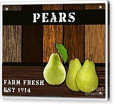 Pear Farm Acrylic Print by Marvin Blaine